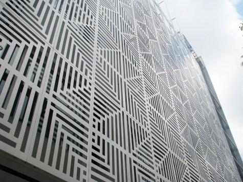 Metal Facade Metal Curtain Wall Exterior Wall Decoration