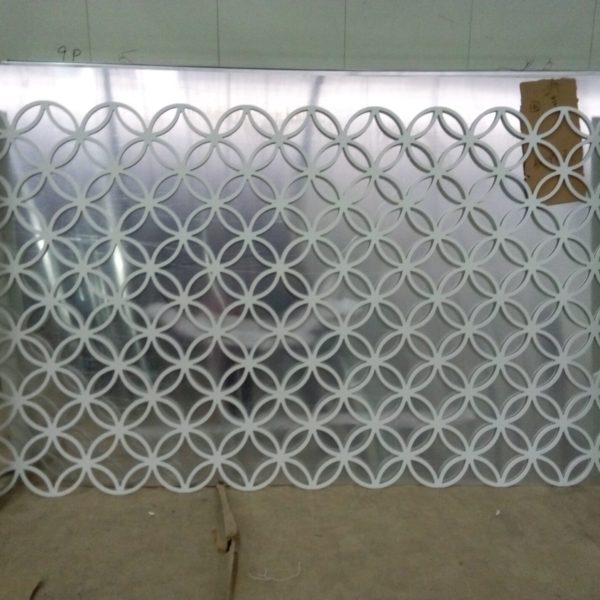 New product with varies style aluminum panel,decorative perforated