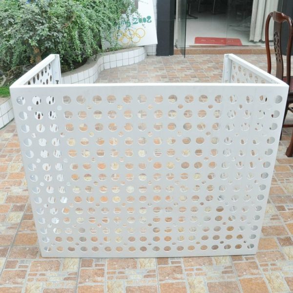 Wooden High Quality Aluminum Air Conditioner Cover