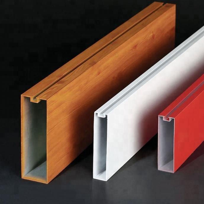 Building Material U Shaped Aluminum Baffle Ceiling