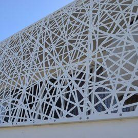 aluminum facade panel